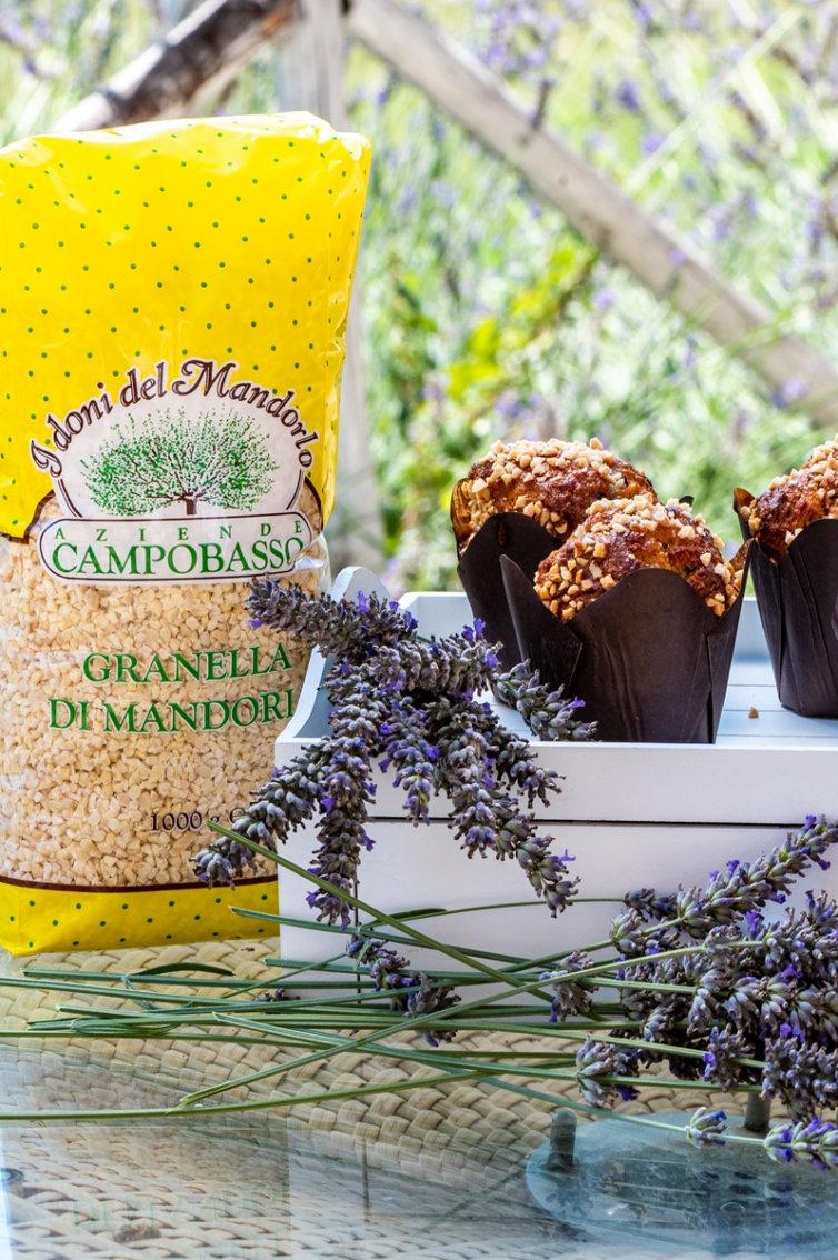 Muffin caramello, cioccolato e mandorle by CAMPUS ETOILE ACADEMY